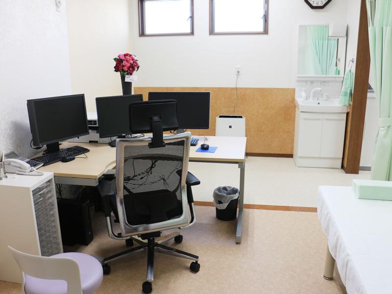 福津中央クリニック|内科・循環器内科|福津・古賀・宗像/診療室